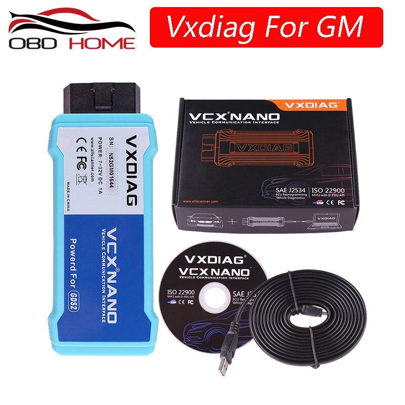Vxdiag Vcx Nano Für Gm/für Opel Gds2 Usb/wifi Version Diagnose Werkzeug Vxdiag Multi-diagnoseprogramm Für Gm Scanner Programmierung System Beste Als Mdi QualitäT Und QuantitäT Gesichert