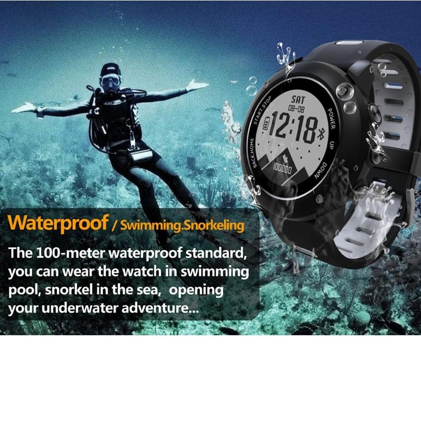 все цены на UW90 Sport Wristwatch Professional GPS Outdoor Sport Smart Watch IP68 Waterproof Swimming Heart Rate Fitness Tracker vs Huami онлайн