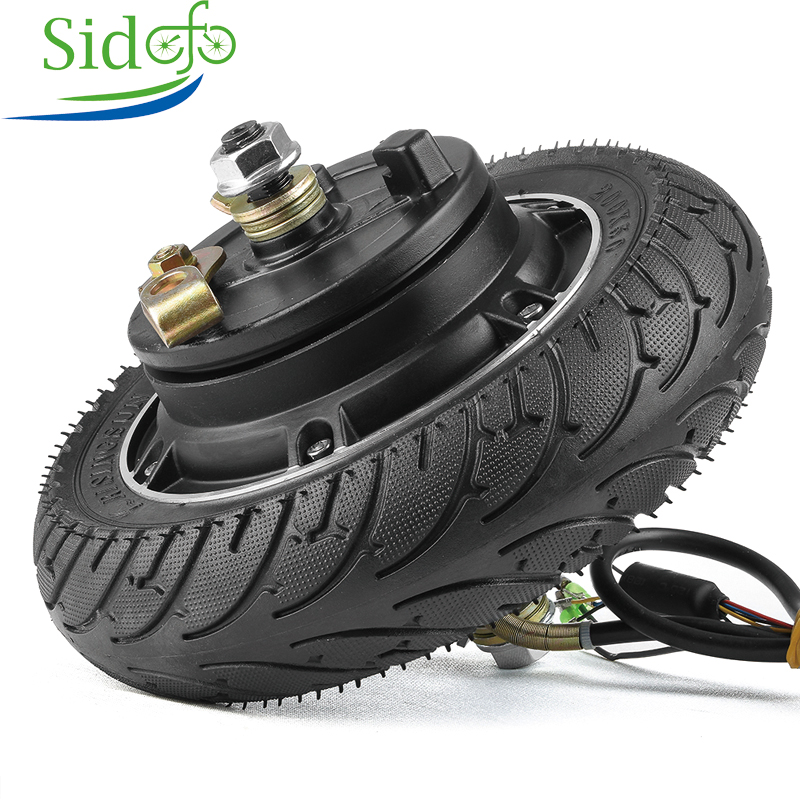 <font><b>Electric</b></font> <font><b>Scooter</b></font> Conversion Kit 24V 36V 48V 350W <font><b>500W</b></font> 8 Inch wheel Brushless <font><b>Motor</b></font> Toothless Hub <font><b>Motor</b></font> E Bike <font><b>Scooter</b></font> Engine image