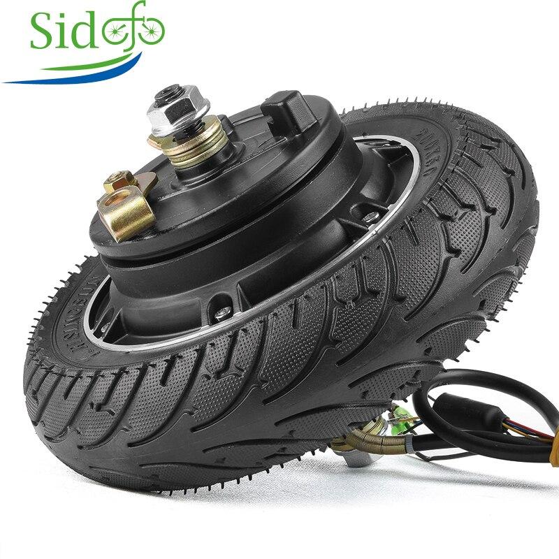 Набор для преобразования электрического скутера 24 в 36 В 48 В 350 Вт 500 Вт 8 дюймов колесный бесщеточный двигатель беззубиковый мотор для скутера|Двигатель для электровелосипедов|   | АлиЭкспресс
