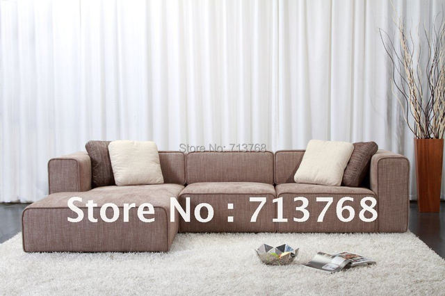 Modern furniture / living room fabric sofa / sectional sofa  /  corner sofa MCNO9046