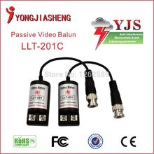 Twisted Single Channel Passive Video Balun Transceiver CCTV DVR camera BNC UTP Security cctv Video Balun surveillance 30PCS