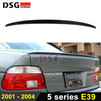 M5 Style Rear Trunk Spoiler for BMW 5 Series E39 4 Door Sedan Carbon Fiber Wings 520i 523i 525i 528i 530i 535i 540i 2001 2004