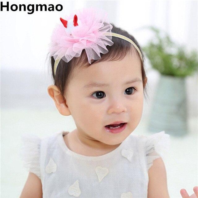 2018 Baby Floral Crown Headband 3D Rabbit Flower Wreath Hair Bands Children  Girls Handmade DIY Headwear Hair Accessories abfe98fc643