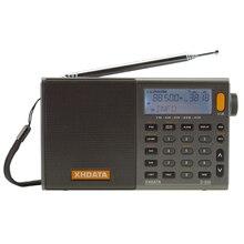 XHDATA D-808 портативный цифровой радио FM стерео/SW/MW/LW SSB AIR RDS Multi Band