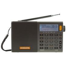 XHDATA серый портативный высокая чувствительность и глубокий звук FM стерео/SW/MW/LW SSB AIR RSD многодиапазонный D-808 с ЖК-дисплеем, сигнализация