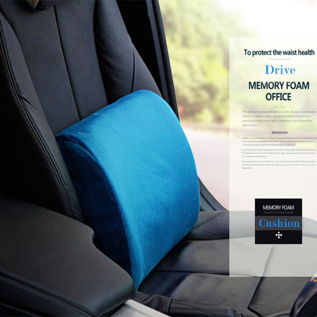Slow Rebound Memory Foam Back Cushions For Office Chairs Car Seat Cushion Bed Sleep Pillows