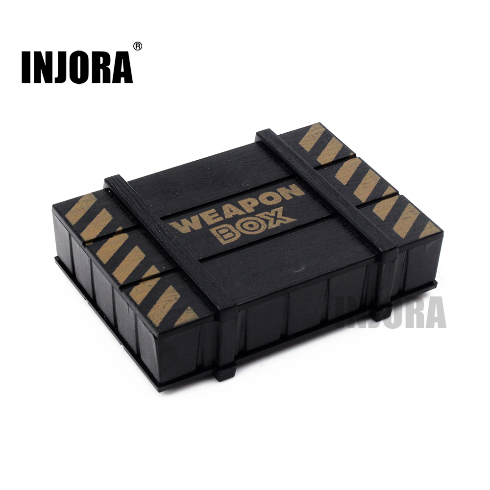 RC Rock Crawler 1:10 Decor Accessories Plastic Weapon Box for Axial SCX10 Tamiya CC01 Traxxas TRX-4 D90 D110 RC Car Truck цена
