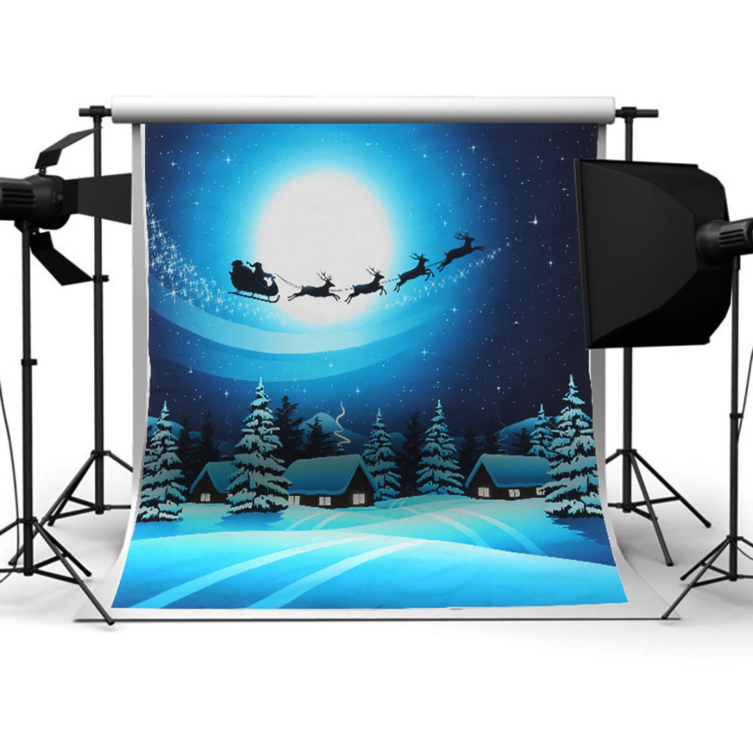 Mayitr 3x5ft Christmas Trees Snow Background Vinyl High Quality Xmas Photography Backdrop For Studio Photo Prop snowman winter backdrop vinyl cloth high quality computer printed christmas photo studio background