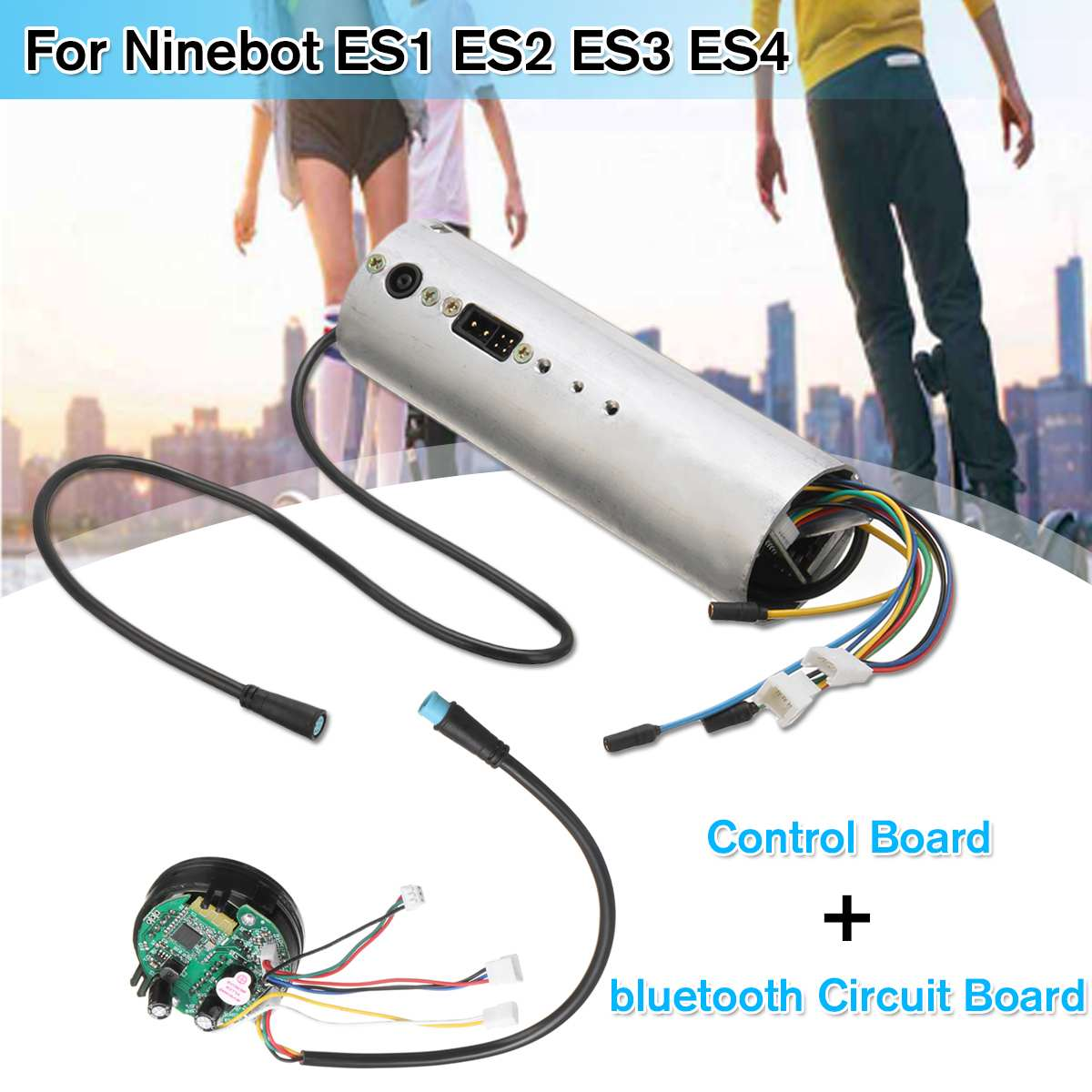 Contrôleur de carte mère de carte mère bluetooth de carte de commande de Scooter électrique pour Ninebot ES1 ES2 ES3 ES4 pièces de rechange