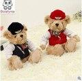 Подлинная большой куклы милый плюшевый медведь стюардесса плюшевые игрушки куклы день рождения Рождественский подарок дети Мягкую игрушку