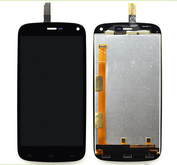 Lcd-scherm + Digitizer Touch Screen Montage Vervanging voor Gionee ELIFE E3 & FLY IQ4410 Gratis tools vervanging