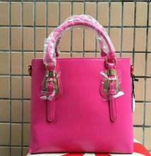 HOT 2016 Fashion women bag Genuine Leather women messenger bags The international famous brand Rivet women leather handbags