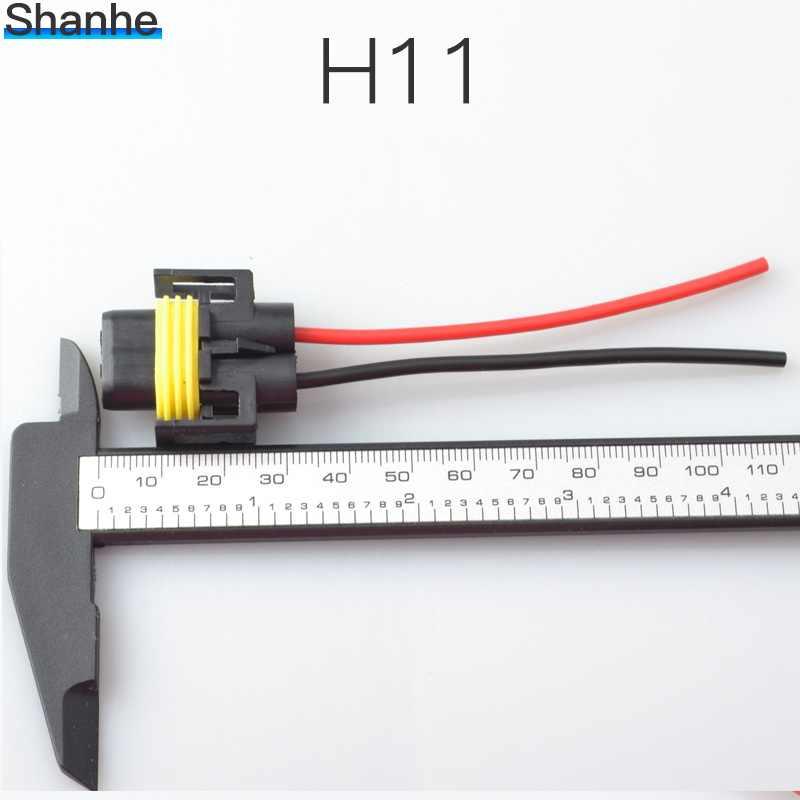 1 наборы H8 H9 H11 разъем электросети автомобильная проводка Соединительный кабель адаптер для HID светодиодный противотуманная фара головного света светодиодная лампочка свет