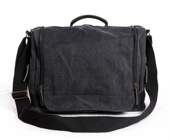 High quality Natural Linen leather Sling Bag Men s Messenger Shoulder Bag  casual leisure bag man bag 305-2 ab8936eb418ec