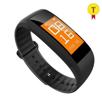 New Bluetooth Pedometer heart rate monitor smart bracelet wrist band watch bluetooth activity fitness tracker Christmas gift