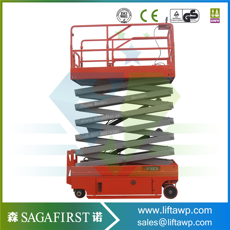 Dirigible Self Propelled Automatic Aerial Lift Truck