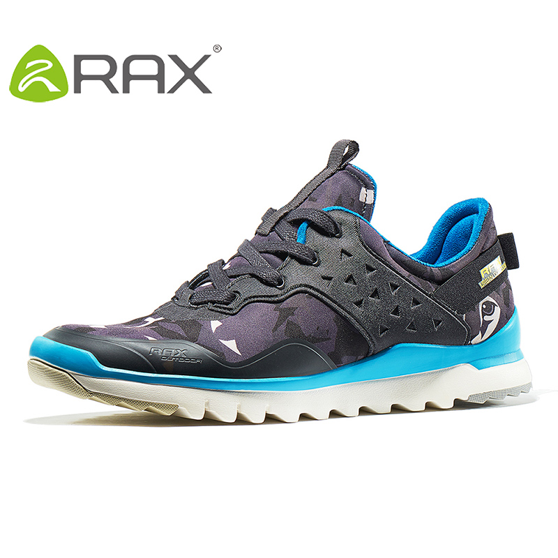 RAX 2018 New Breathable Men Walking Shoes For Women Zapatillas Ultralight Walking Sneakers Men Sport Athletic Shoes63-5C365 rax autumn men running shoes for women sneakers men outdoor walking sport athletic shoes zapatillas hombre 63 5c365