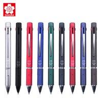 SAKURA GB4M1004 Multi function Pen 0.4MM Four color Gel Pen Plus 0.5MM Automatic Pencil