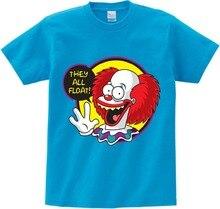 Children summer T shirt 3D print The Killer Clown Cartoon t shirt boy/girl Short Sleeve t-shirt kids funny tshirt  baby tops  NN набор игровой moose новоселье роскошная конюшня для пони