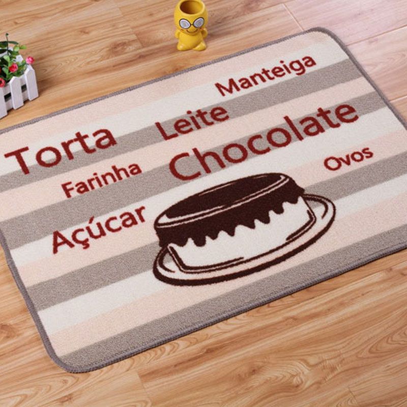 motif de fruits pour tapis ikea 90% polyester tapis pour cuisine