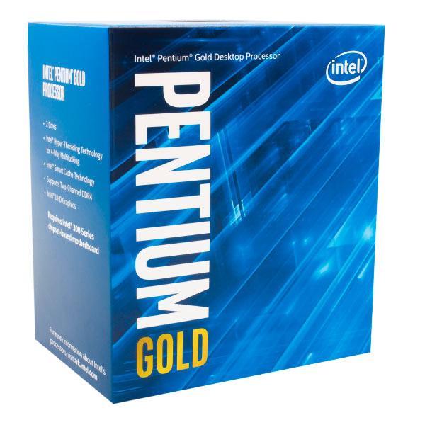 CPU Intel Pentium Gold G5400 Coffee Lake 8°gn Socket 1151 3.7 GHz 4 m Dual Core IGPU 54 W