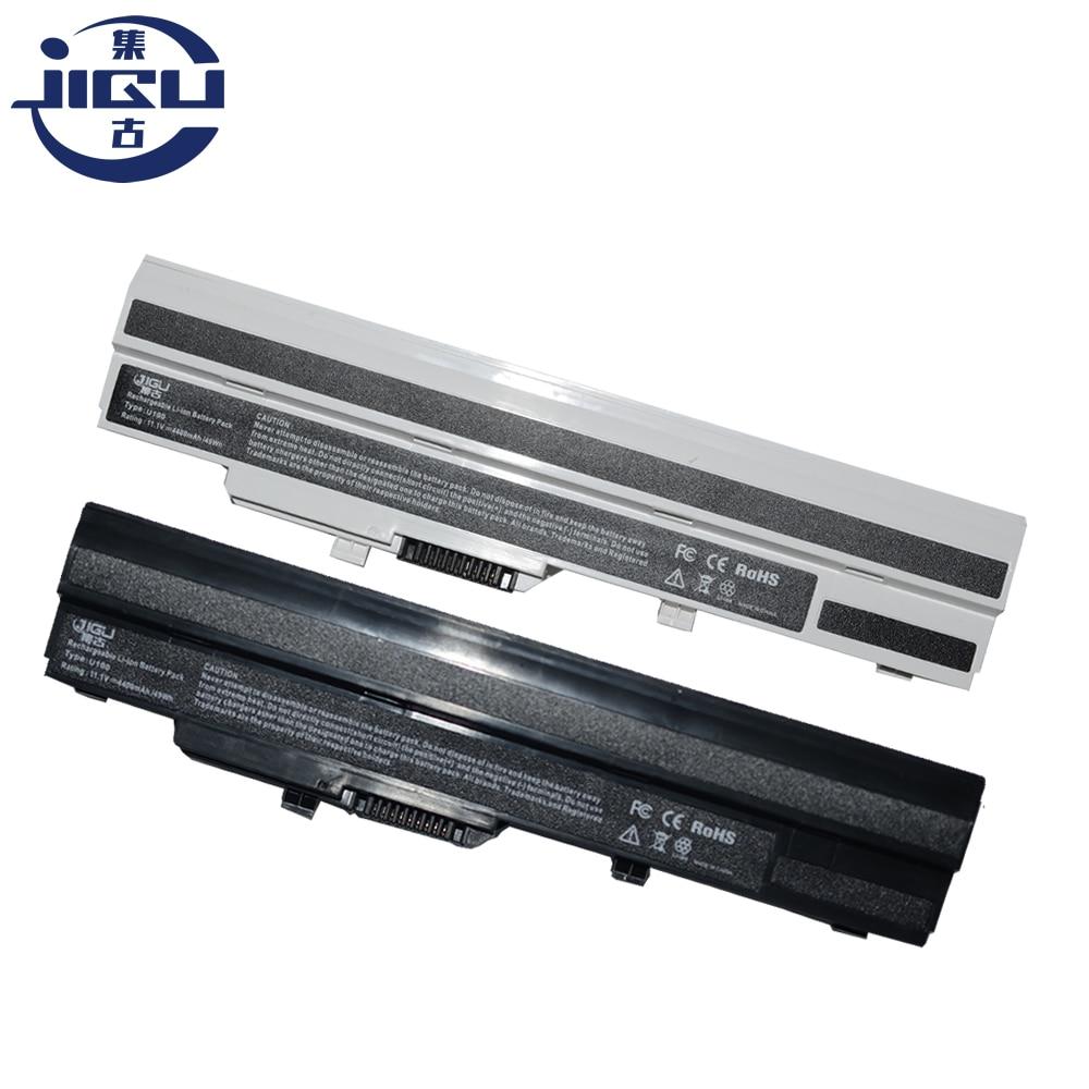 JIGU NEW Laptop Battery For MSI U100 U120 U90 U130 U135 U100X For LG X110 Series BTY-S11 BTY-S12 Black(China)