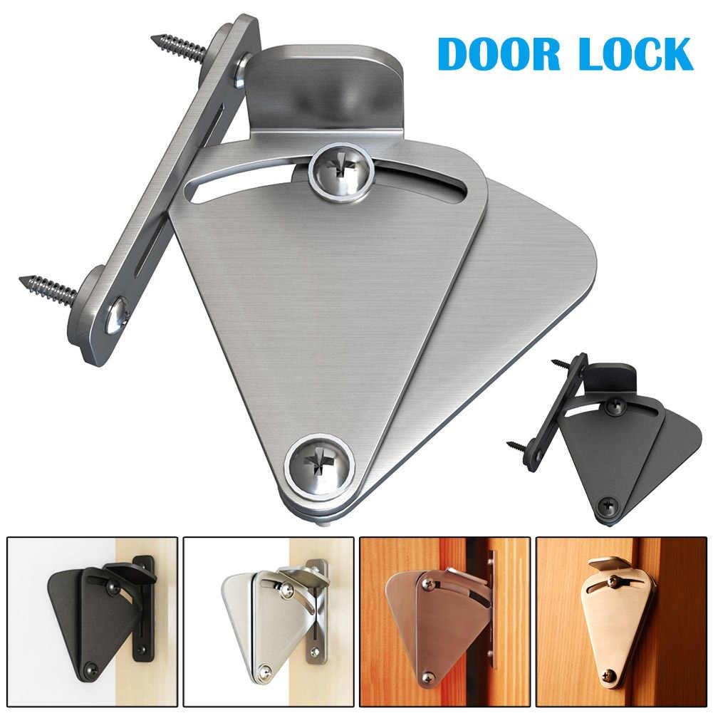 הזזה אסם דלת מנעול פחמן פלדה למשוך דלת נועל חומרה בחור-מכירה