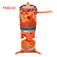Fire maple Camping High efficiency Heat Collection Pot Outdoor Heat Exchanger Pot and Stove FMS X2/FMS X3