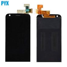 Полноразмерный ЖК-дисплей для LG G5, черный, Бесплатная доставка