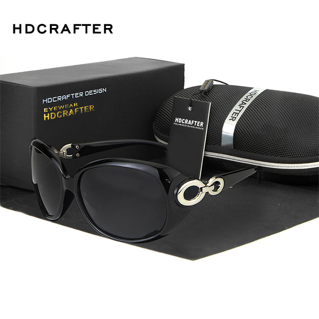 HDCRAFTER  Luxury Fashion  Sunglasses Women Sun Glasses  Round  Goggles  Outdoor Eyewear Accessories