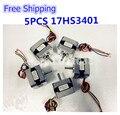 Free Shipping 5pcs/lots 17HS3401 4-lead Nema 17 Stepper Motor 42 motor 42BYGH 1.3A CE ROSH ISO CNC Laser Grind Foam Plasma Cut