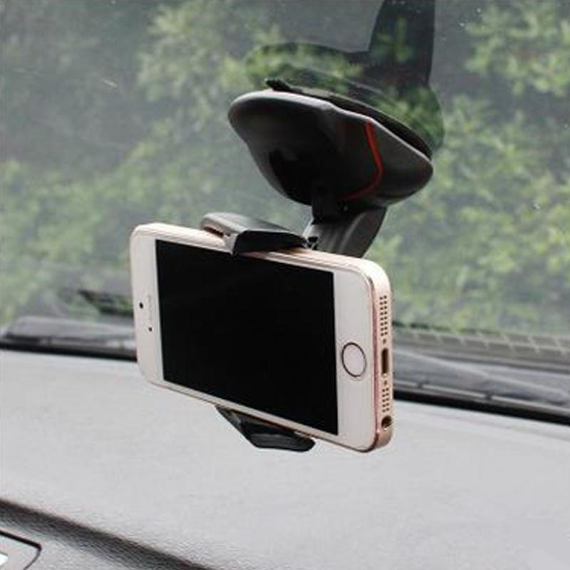 2018 universal car phone holder windshield suction mobile phone car holder 360 Rotatable mount For iPhone foldable mouse