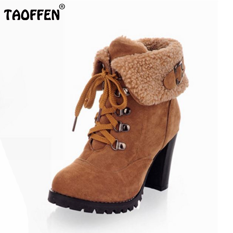 Free shipping ankle boots high heel shoes short winter fashion sexy warm fur buckle women boot pumps P2354 on sale size 34-39 нивелир ada cube 2 360 home edition a00448
