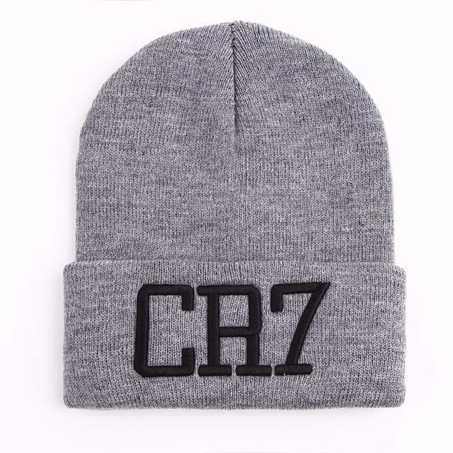 876797aec91 Online Shop CR7 Beanies Knit cap Winter Caps Skullies Bonnet Cristiano  Ronaldo Winter Hats For Men Women Beanie winter Ski Sports Warm Cap