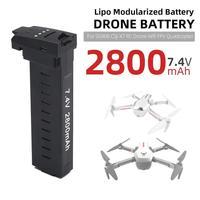 Batería de Dron HobbyLane 7 4 V 2800mAh para SG906 CSJ-X7 X193 RC Drone Wifi FPV  piezas de cuadricóptero  accesorios