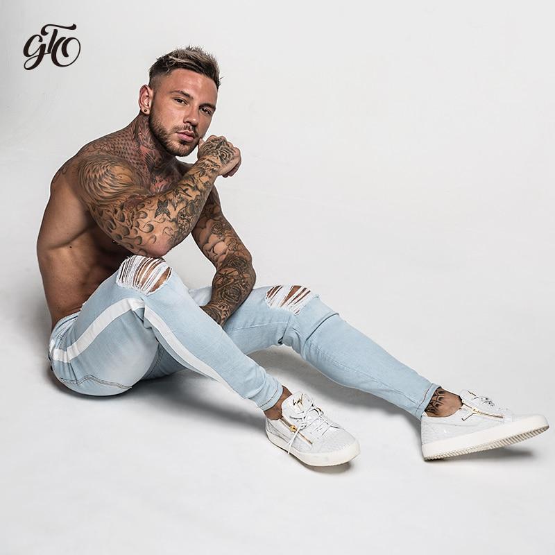 gintto-skinny-jeans-men-tape-white-zm27-4