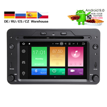 HIRIOT 1 Din Auto Radio Android 9 For Alfa/Romeo/Spider/Brera/159 Sportwagon RAM 2G Car Multimedia Video DVD Player GPS USB DVR