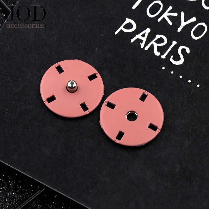 5PCS 10/12/15/18/21/23mm Kleuren Metalen Drukknoop voor Kleding fasteners Druk Knoppen Stud Jas Naaien Kleding Accessoires