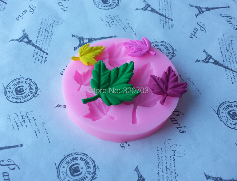 New arrive, Maple Leaves Shape for silicone  fondant cake tool. Lace mold cookie, chocolate, sugar bakeware mold E009