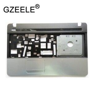 GZEELE Upper case For ACER for Aspire E1-521 E1-531 E1-571 E1-521G E1-571G Palmrest keyboard bezel case C cover shell(China)