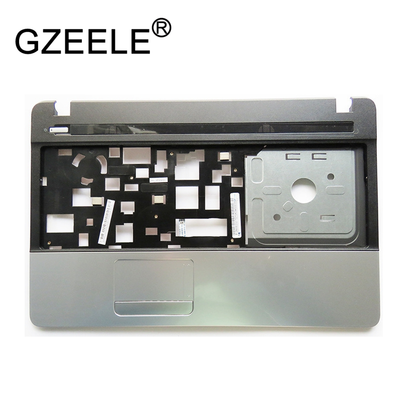 Gzeele caso superior para acer para aspire E1-521 E1-531 E1-571 E1-521G E1-571G palmrest teclado bezel caso c capa escudo