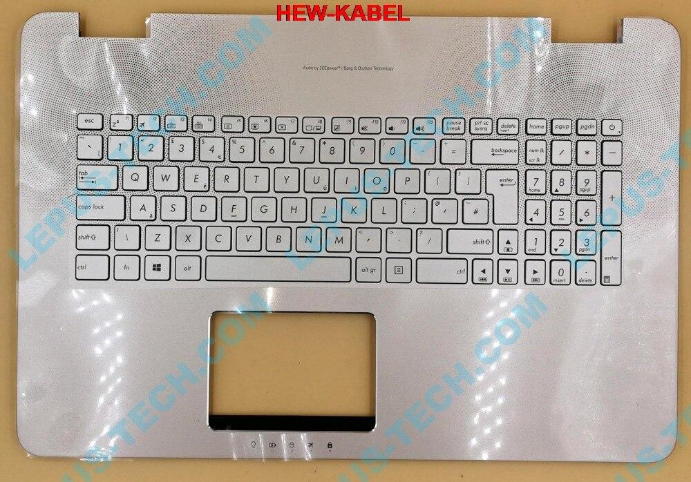 Royaume-uni disposition des états-unis pour ASUS N751 N751JK G771 GL771 clavier rétro-éclairé avec rétro-éclairage du boîtier supérieur