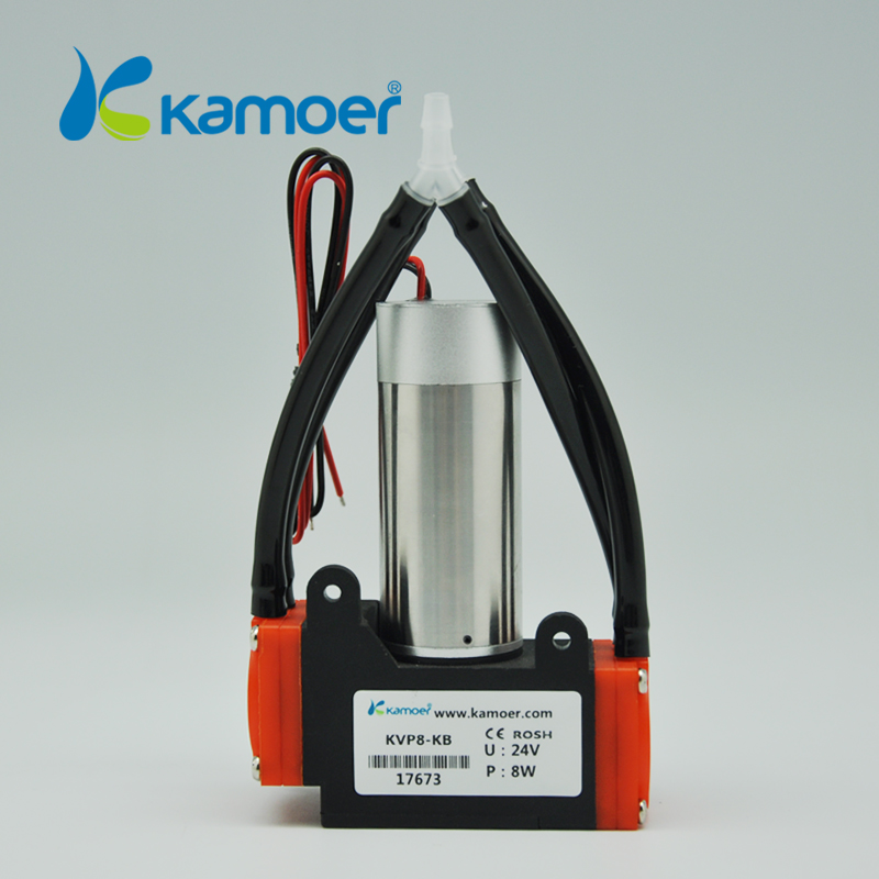 Kamoer  KVP8 12V mini  diaphragm vacuum  pump with brushless dc motor micro air pump electric 24V dc vacuum pump(long lifetime) 2 5l min pumping rate electric diaphragm 12v dc water pump with brush motor