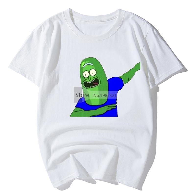 Summer Tshirt For Men Rick And Morty Printing Streetwear Loose Rick Y Morty Camisa Masculina Tee Shirt Homme Funny T-Shirt Z45