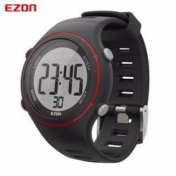 EZON Outdoor Sport Men Women Heart Rate Monitor Watches Mens Digital Quartz Wristwatch Alarm Military Analog Male Watch Montre