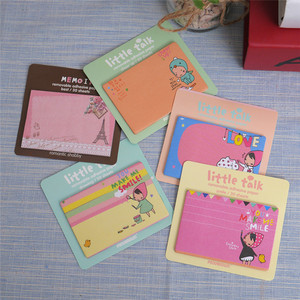 Kawaii Cartoon Red Hood Girl Memo Notepad Note Book&memo Pad Sticky Notes Memo Set Gift Stationery Wholesale