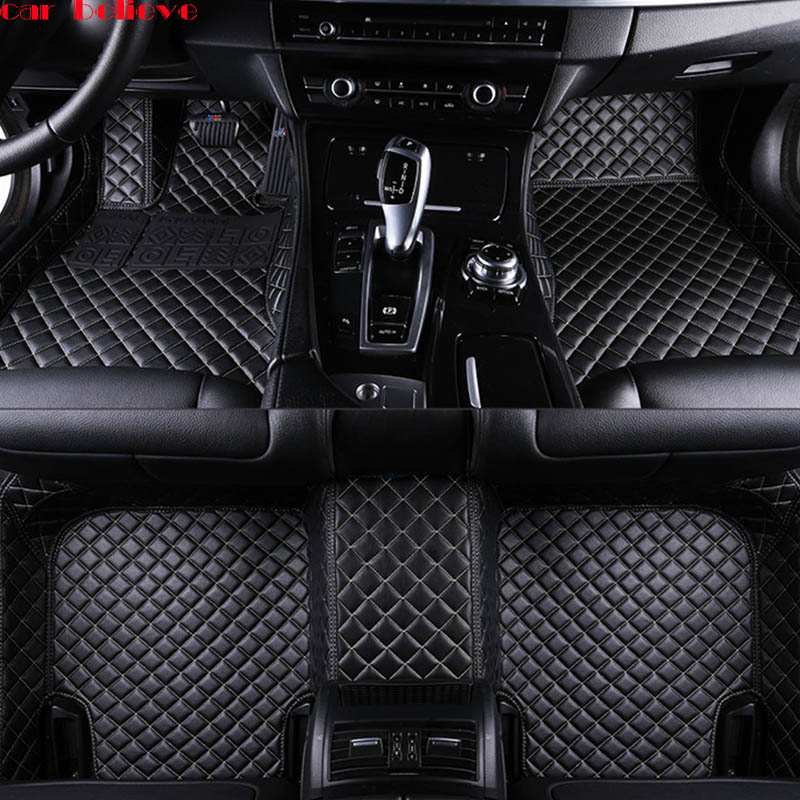 Car Believe Auto car floor Foot mat For subaru xv 2018 forester 2009 outback legacy waterproof car accessories styling