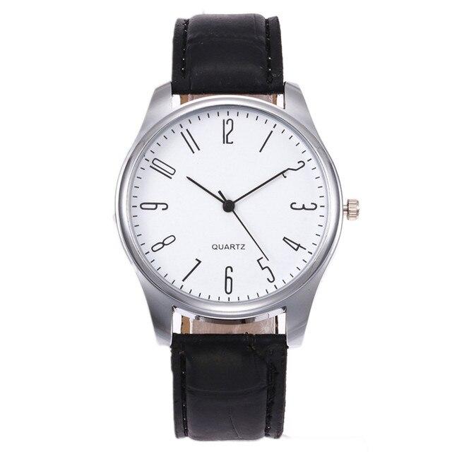 2018 Simple Quartz Watch Men Luxury Male Clock Business Relogio Masculino Hodink