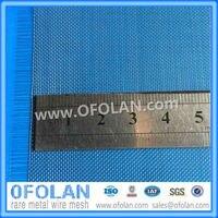 (Mo1> 99.95%) 구멍 크기 0.5mm (40 mesh) uncoated 몰리브덴 와이어 메쉬 100mm x 1000mm 재고 공급